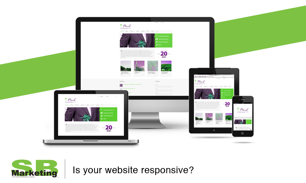 Responsive Design by SB Marketing LLC